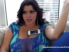 Big Titted Angelina Castro Desperate for Spanish Cock!