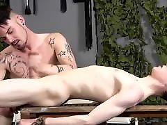submissive twink, gets dildoed, gets fucked and pissed in th