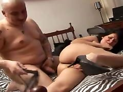 Amateur MILF with america nsex natasha crown big ass and a fat ass gets fucked