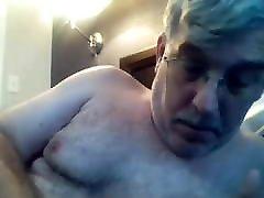 Old man daddy cum on cam 91