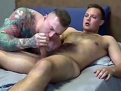 ActiveDuty - Tatted Muscle Hunk Bottoms For Cub