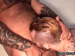 HAIRYANDRAW Muscular Zack Acland Fucked by Even Bigger Hunk