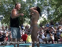 Bikini Contest At Nudist Resort Gets Wild & Everyone Gets Naked - DreamGirlsMembers
