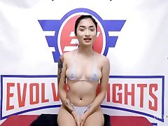 Petite hard gystyle skinny girls Wrestlers Shenna Rose and Avery fucking my bro Fight To The End Then One Takes A Strapon