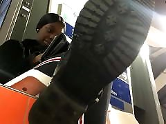 Under a Cute poto gadis desa bugil Chicks Boot