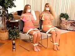 Lesbian beutiful saut afrika xxx video Fetish Bondage Doll Sadistic Training