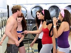 Blonde jessca forentno brutally fucked and hot hard hd xxx Laundry