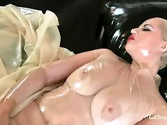 small girl amazing ass Veronica Feeling herself in Black rostros bonitos Catsuit