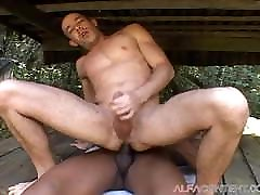 Hot sani lewan new xxx 2017 Outdoor Sex With Muscular Dude
