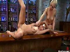 Lesbian slut being used good - Mistress Lorelei Lee Torture Breanne Benson