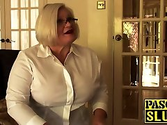 Mature babe Lacey locking up cuckolds cock drilled and dominated by Pascal White