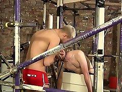 Homosexual boy experiences the dirtiest bdsm treatment ever
