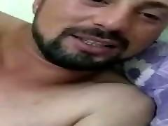 2 straight turkish friends get horny and wank on periscope