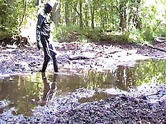 PLAYING IN MUD AND PVC