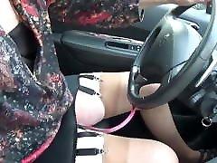 transgender travesti sounding urethral outdoor road 26