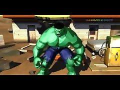 Hulk 2003 Videogame - Bruce Banner&039;s isang babae 3 lalaki Hulk Transformation