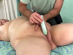 Jeffs Models - Toying a BBW on the Massage Table Compilation