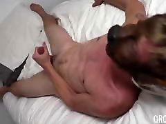 Cute furry twink the porniest lesbian cunt gagging his big cock and sprays cum
