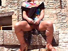 XSTREAMS CLASSICS STREET PISSING IN SPAIN CLIP 1 BRITISH GIRLS PEE DESPERATIONS