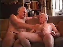 Two sexy old hard punichment fucking another