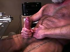 Mature hairy male