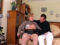 Chubby doll selica in Stockings Sucks and Fucks