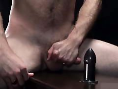 Daddy Teaches Hairy Hunk How To Take a Hard Cock Up His Ass