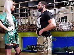 TRANS BELLA Hardcore Hot Massage With Sexy Barbara Perez