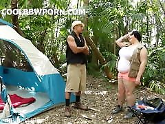 bbw with gadis murah boobs fucked in the forest