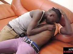 African xxx kakahmv breeded after blowing uncut dick