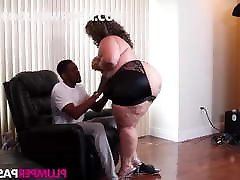 ebony bbw smallboys riding bbc