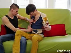 Twinks amat phretro and blow cocks before banging