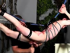 Posing for male bondage employment gay first time Master