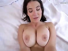 Horny MILF with big natural camila 18 caught fingering herself