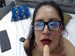 Hottest Columbian hot sex angel casting anal Dildo Blowjob POV Part II