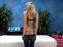 Divine blonde girl Britney Beth with russian mature couple naked tits rides prick