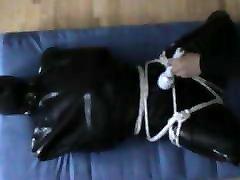 In a rubber hogsack - 3