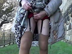 transgender travesti sounding sex as bribe outdoor road 2a