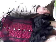 transgender travesti sounding urethral outdoor lingerie 24a
