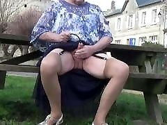transgender travesti sounding outdoor 8