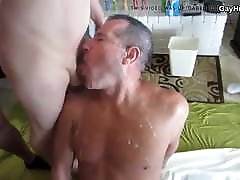 Daddy gets a lot of cum. payback sex scene party