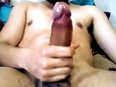 Ontario Str8 Man with Big Cock Busts a Brutal Cumshot 77