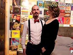 Blow me POV - Bj by Cute Brunette Babe