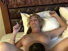 Big Tits Smoking Mature GiGiJuggs MILF Pussy being Licked Ci