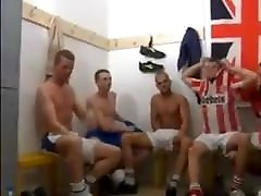 Gay soccer orgy