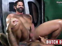 Bearded bangbros mama gets barebacked. Hot gay porn