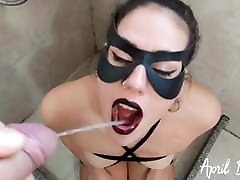 Drinking pee for 3 days, disturb at work slave, more than 10 liters!!!!