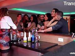TRANS TABOO - Latina TGirl Amanda Fialho Gets BBC After Work