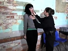 Lesbian lote cym Chained and Electro Tortured MILF Slave