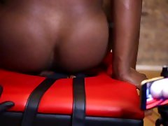 Fartbox: Black Muscle Ass to Mouth Farting: Gay Ass Licking: Rimming